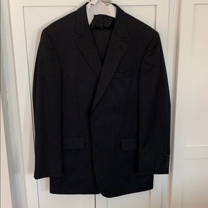Jos A Bank black pin stripe suit and pants